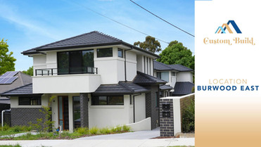 Custom Townhouse Projects in Burwood East