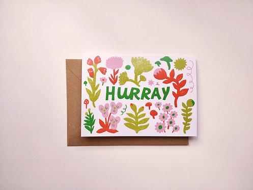 Hurray Greetings Card