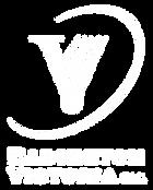 Badminton Victoria Logo - White - Vertic