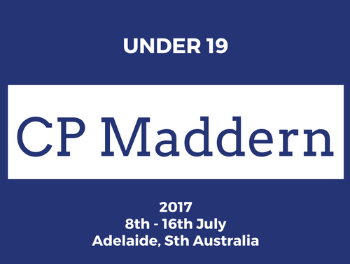 U19 CP Madden - Nomination Forms Now Available