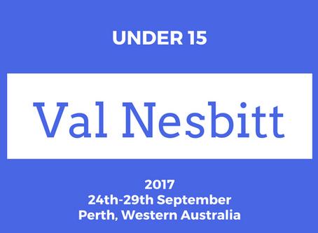2017 Under 15 Victorian State Team