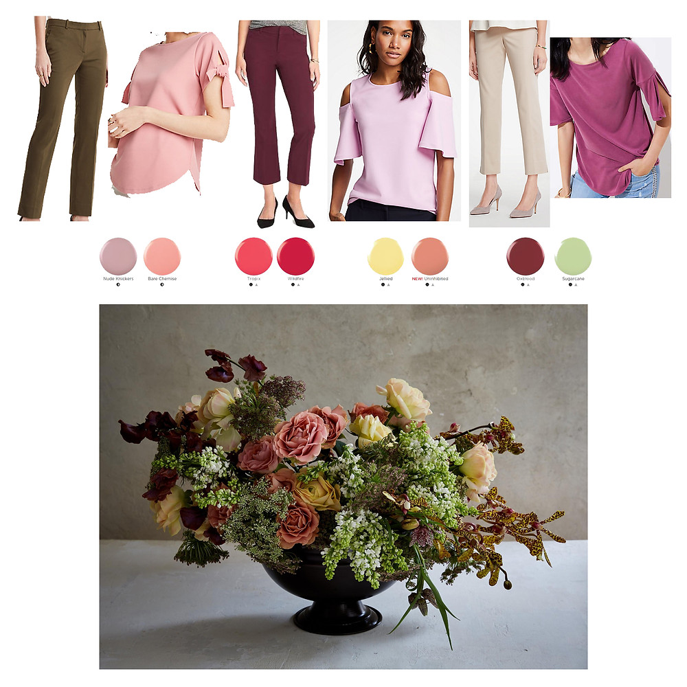 Fashion Sensei// natural color combinations