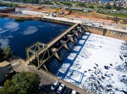 Barragem - Pq. Ecológico do Tietê