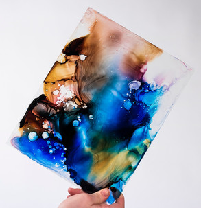 Ink on Glass
