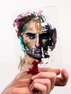 Portrait on Glass