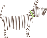 Animal Sense dog logo