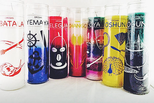 Orisha Specific Candles