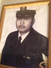 Bernard Jimenez U.S. Navy (grandfather),