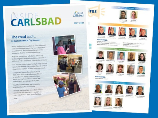Inside Carlsbad Newsletter - May 2021
