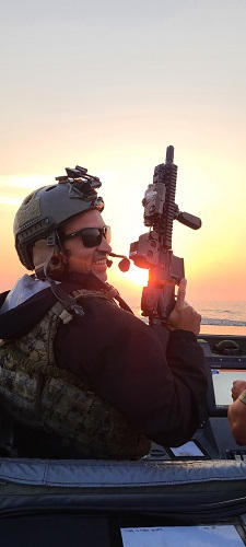 Dominick Zocco, U.S. Navy (son), Erin Pe