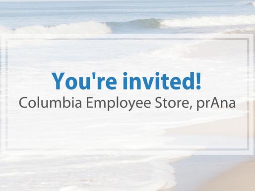 Special city staff invite - prAna
