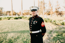 Eric Tabanico U.S. Marine Corps (husband