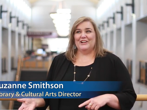 A Familiar Face For Our New             Library & Cultural Arts Department Director