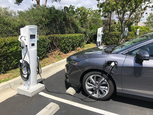 City Adds Electric Vehicles and Charging Stations