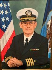 Capt. Philip S. Shaver, U.S. Navy (fathe