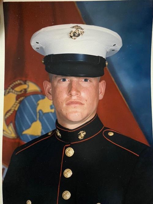 Eric Sanders, U.S. Marine Corps, Public
