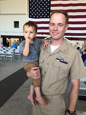 Jon Aasted Chief Petty Officer in the U.