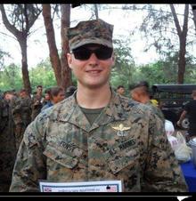 Justin Ernst, U.S. Marine Corps,  Commun