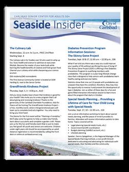 Sample Newsletter cover