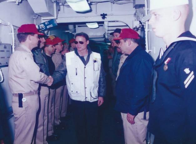 David Harrison U.S. Navy, Fire.png