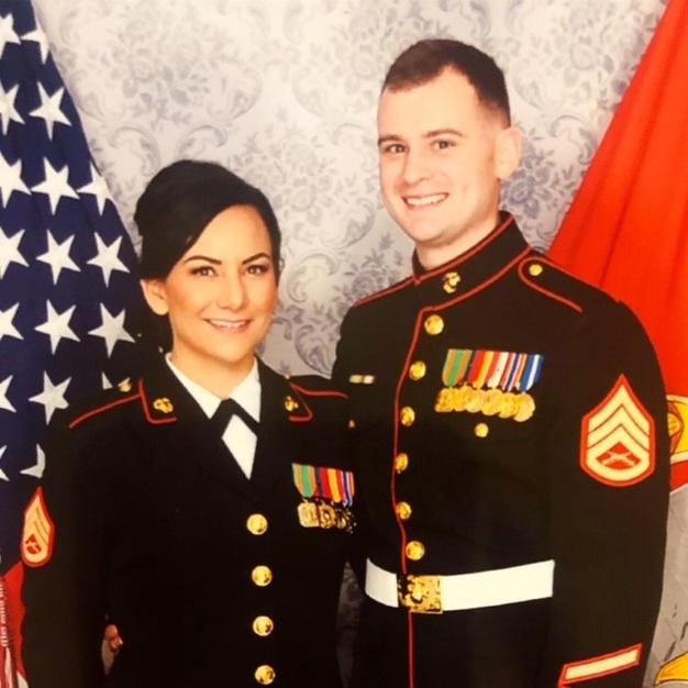 Amanda Hullet and Ryan Aldrich (daughter