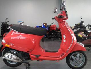[NEW!]VESPA LX 125 IE สีแดง ปี2013 วิ่ง 32,xxxโล สภาพสวย ราคาเบาๆ