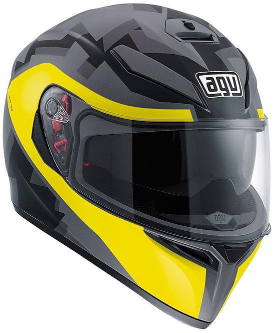 AGV K3-SV Camodaz (Matt Camo / Yellow)
