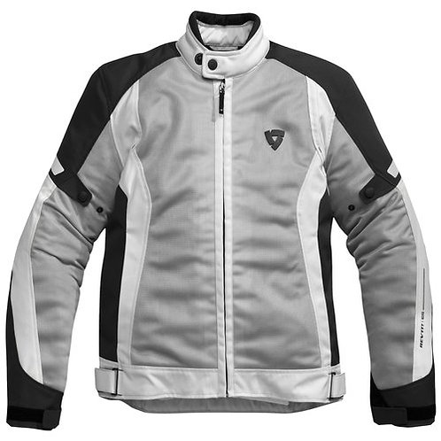 Revit Airwave Jacket Black-Sliver