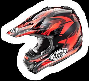 Arai MX-V DAZZLE RED