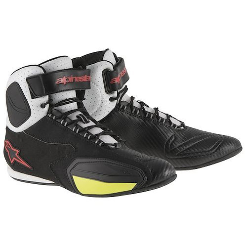Alpinestar Faster Black-White-Red-Yellow  #10/43