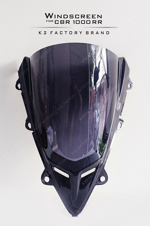 ชิลด์หน้า CBR1000RR ( ลายคาร์บอน ) K2 FACTORY