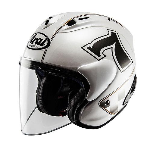 Arai SZ-RAM X Café-Racer White