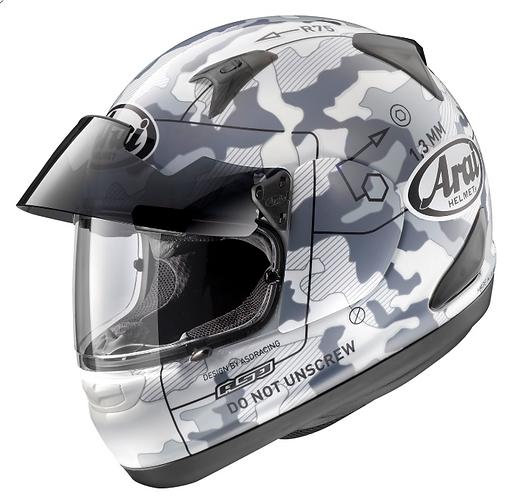 Arai Astro-IQ Pro Shade Command White