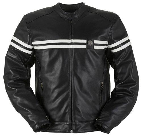 Furygan 6129 GTO MEN Leather Black-White