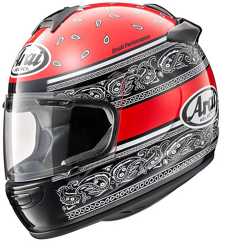 Arai Quantum-J Ribbon Red