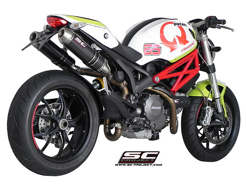 SC-PROJECT GP-EVO SILENCERS CARBON Ducati Monster 795-796