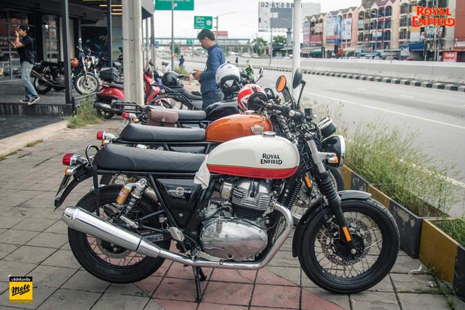 Morning Ride @Bangkok By Royal Enfield Praram5