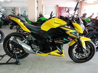 [NEW!]Z300 สีเหลืองดำ ปี2015 วิ่ง20,xxxโล สภาพสวย พร้อมจัดไฟแนนซ์