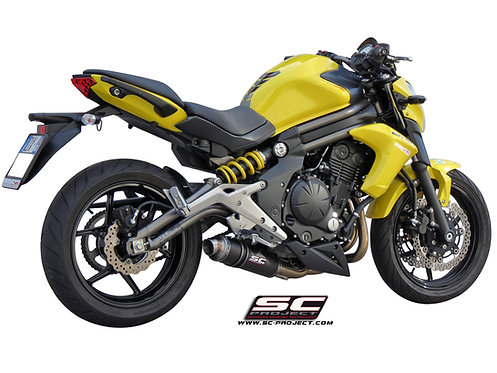 SC-PROJECT FULL SYSTEM 2-1 with GP SILENCER KAWASAKI ER6n
