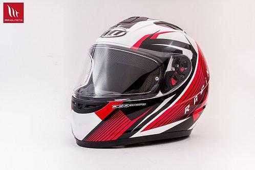 MT Thunder Axe - White - Red