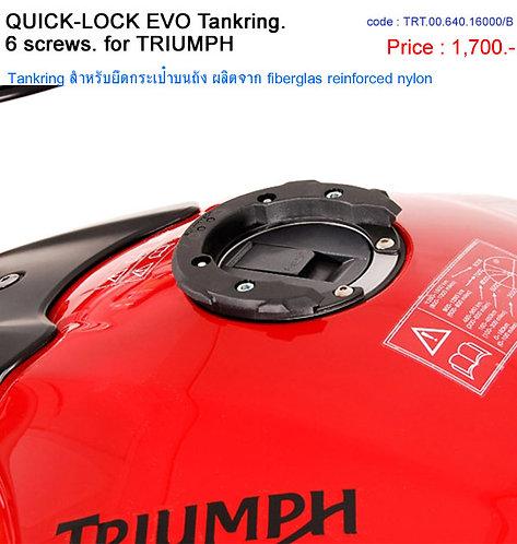 QUICK LOCK EVO Tankring แบบ 6 รู สำหรับ Triumph SW-Motech