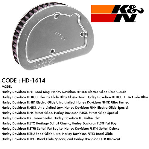 HARLEY DAVISON HD-1614 K&N