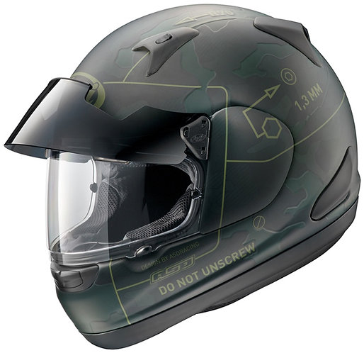 Arai Astro-IQ Pro Shade Command Green