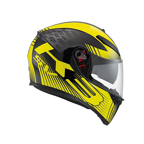 GLIMPSE BLACK METAL-YELLOW K3-SV MULTI PINLOCK