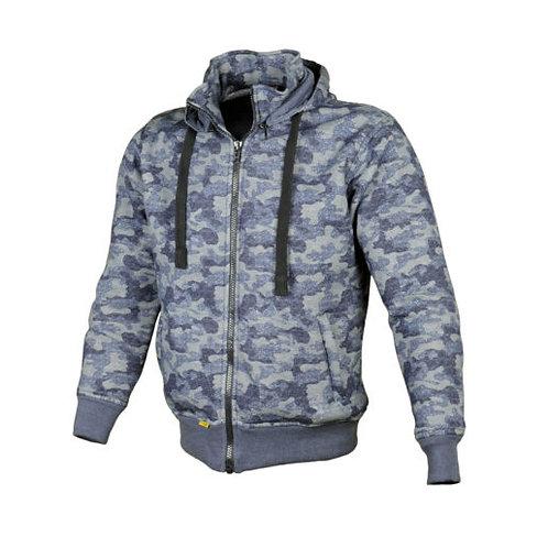 เสื้อฮู้ดมีการ์ด / Booster Hoodie Color : CAMO BLUE