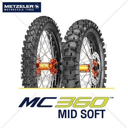 80/100-21 + 100/100-18 MC 360™ MID SOFT METZELER