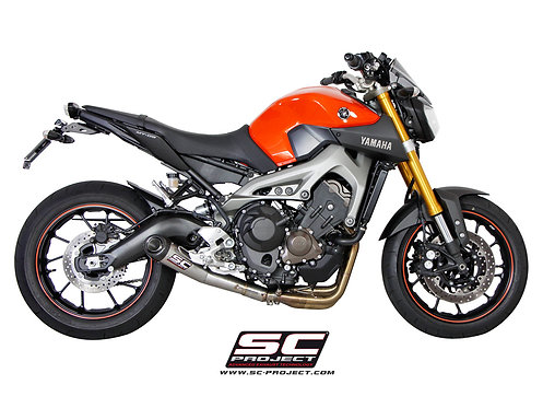 SC-Project FULL SYSTEM 3-1 with CONIC SILENCER SILENCER YAMAHA MT-09