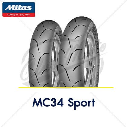 110/70-12 + 110/70-12 MC34 SPORT MITAS