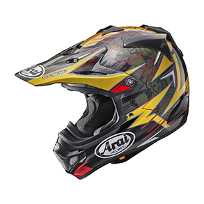 Arai MX-V TICKLE RED