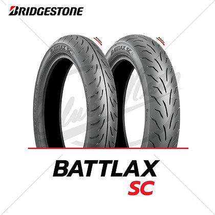 120/70-15 + 140/70-14 BATTLAX SC BRIDGESTONE